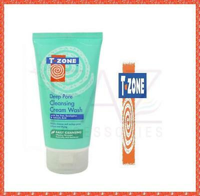 T-Zone Cleansing Cream Wash With Tea Tree 150ml