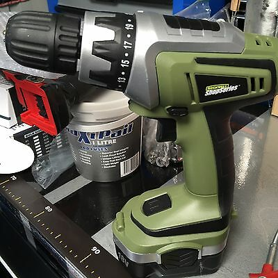 Rockwell 18V Cordless Drill RS2315K Plus Battery, No Charger