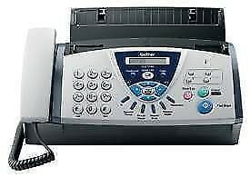 Brother Fax-T106 Plain Paper Fax Machine with Answering Machine