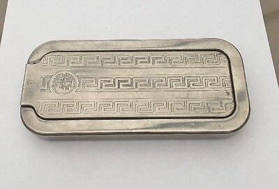 British Silver Plated Imperial Rolls Razor With Case 1927 Vintage