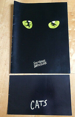 ' Cats ' The Musical - Two Souvenir Brochures