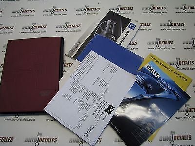 Peugeot 407 coupe owners manual wallet handbook used 2006