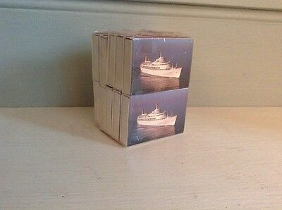 P&O Cruises Canberra Cruise Pack Of Ten Boxes Of Matches Sealed.