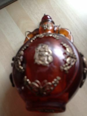 Chinese Glass 4and A Half Inch Snuff Bottle