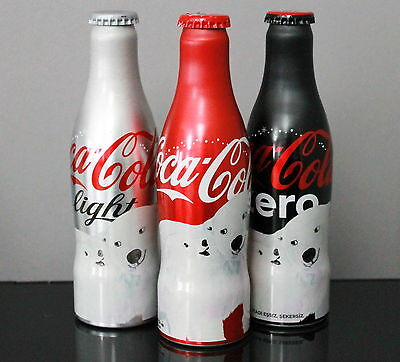 Coca Cola  *full* 2017 New Year Christmas - Turkey Edition Aluminum Bottle Set
