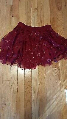 Justice tulle skirt. New! Size 10