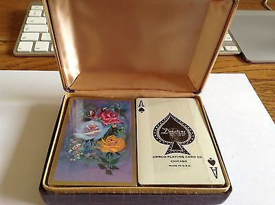 Arrco Duratone Antique Playing Cards Sealed & Boxed