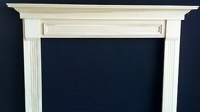 WOOD-  -Mantel Surround, P/G. QUICK SHIP  New, 48 x 42