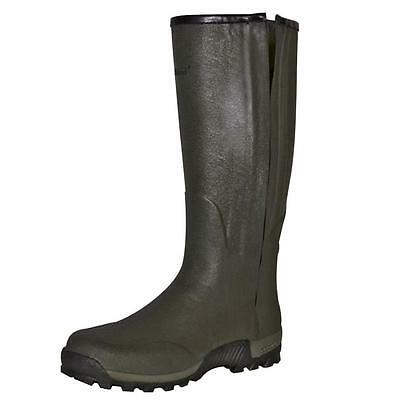 "Seeland Estate 18"" Vibram Full Zip Leather Lined Wellington Boots Shooting New"