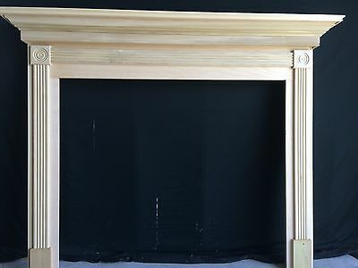 Fireplace -Mantel Surround, 1010 P/G ROSETTE- 48 x 42  inside opening