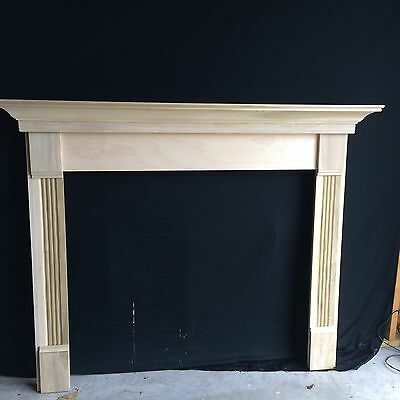 WOOD- Sale-Mantel Surround, P/G QUICK SHIP, 48 x 42 Inside Opening