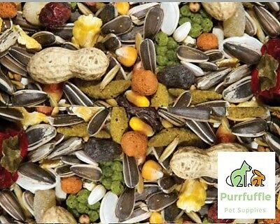12.5kg DELUXE PARROT FOOD MIX with Tropical Fruit / Seed / Nuts / Vegetables