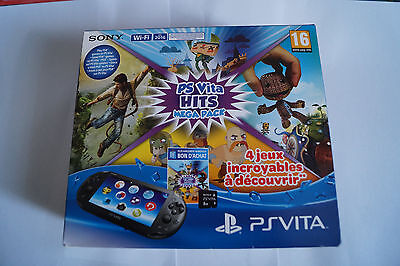ps vita hits mega pack wifi sony playstation console jeux video neuf sous scellé