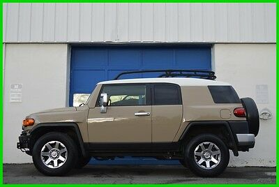 2014 Toyota FJ Cruiser Rare 6 Speed Manual Roof Rack JBL Locking Diff 13K Repairable Rebuildable Salvage Lot Drives Great Project Builder Fixer Easy Fix