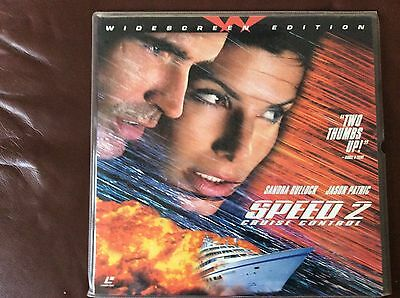 Speed 2 Cruise Control Laser Disc As New