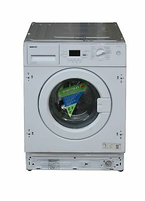 Beko Built in Integrated 7kg Washing Machine 1600 spin White #1626