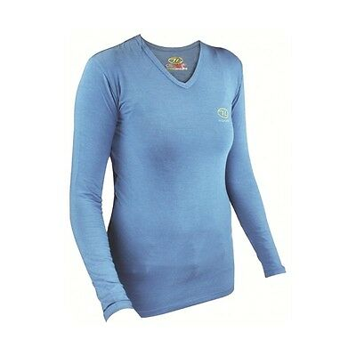 T-Shirt Chaud Femme Bamboo Ladies Long Sleeved