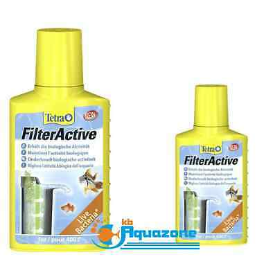 TETRA * FILTER ACTIV* 100ml 250ml 500ml * TAP WATER CONDITIONER *