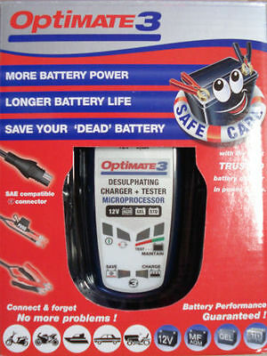 Optimate 3 12V Battery Charger and Conditioner