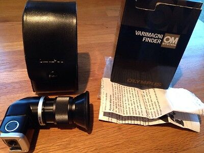 Olympus Varimagni Finder ( Right Angle Finder ) + Olympus Case.