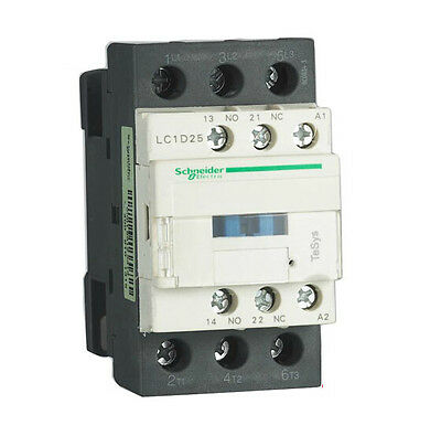Schneider Electric, Iec Style Contactor, 3-Pole, 120Vac Coil Voltage, Brand New!