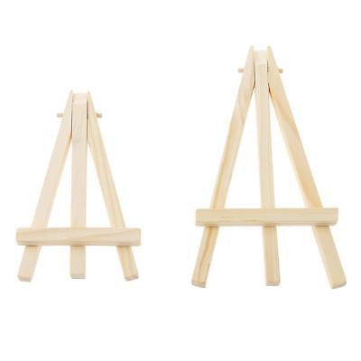 Mini Wooden Cafe Table Number Easel Wedding Place Name Holder Mobile Stand Craft