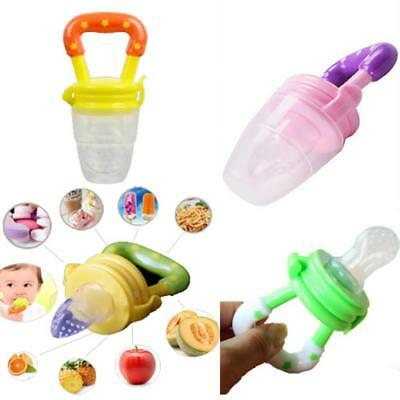 Munchkin Fresh Soft Food Feeder Silicone Nipple Weaning Mesh Baby Feeding