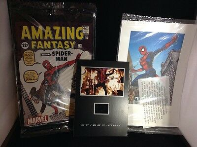 Amazing Fantasy #15 Comic Spider-Man 2002 REPRINT, Lithograph, and Senitype MINT