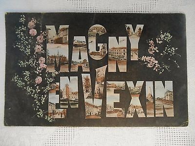 c1905 Vintage FRENCH Postcard MAGNY EN VEXIN FRANCE POSTED
