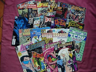 DC Comics USA X20 Issue Job Lot #1 Real Mixed Bag FN/VFN Lots of titles!