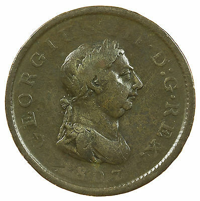 Great Britain, George Iii Penny, 1807