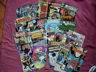 DC Comics USA X20 Issue Job Lot #2 Real Mixed Bag FN/VFN Lots of titles!