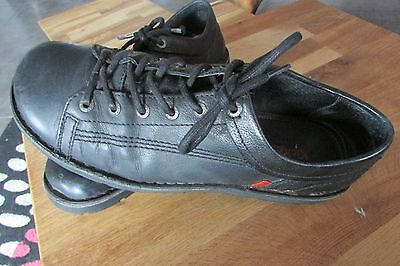 Kickers Chaussures. Cuir  Noir Homme- Chaussures Mixes   Pointure 40