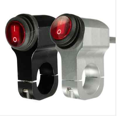 12V 16A Motorcycle Handlebar Grip Light Switch Aluminum-alloy Waterproof with