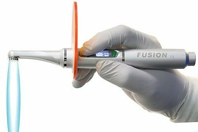 Fusion Curing Light 5.0 Cordless Dental FDA Approved 2 Yr War NIB - Silver