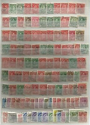 Page Of Canada Stamps