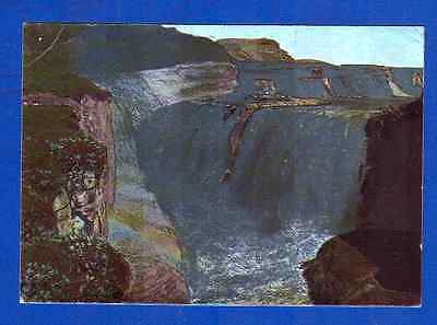 Iceland Gullfoss, the Golden Waterfall in Hvita River pub.c1930 Solarfirma no.63