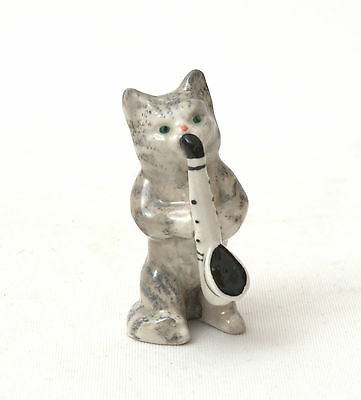 Beswick Cat Orchestra - Cat With Saxophone No.1029 1945-1973