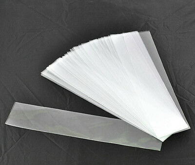 10 Clear Bags / Sleeve for Protect your Bookmarks Pergamano ( 9 x 2 3/8 inch ).