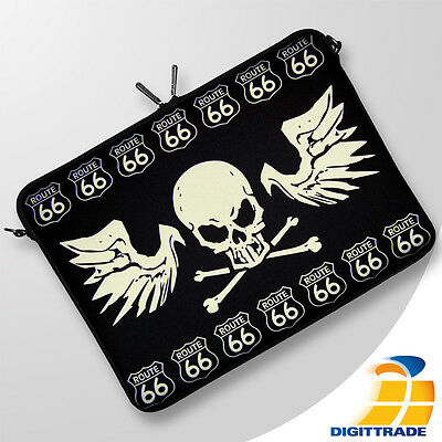 "DIGITTRADE LS134-15 Route66 Notebooktasche Laptop-Sleeve Schutz-hülle 15,6"" Zoll"