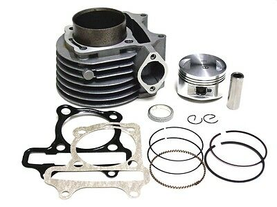 57mm Cylinder kit for 150cc GY6 engine with gaskets
