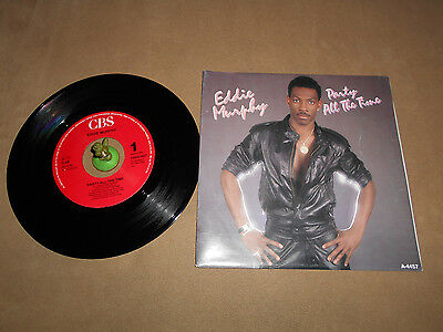 Eddie Murphy - Party all the Time (1985) Vinyl 7` inch Single Vg +