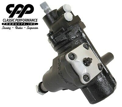 58-64 Chevy Impala Cpp 500 Series Quick Ratio Power Steering Gear Box New