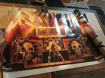 WASP  W.A.S.P. Poster 1985