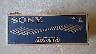 Sony MDS-JE470 Minidisc and PCLK-MN10 Kit