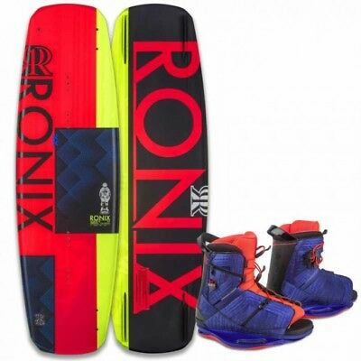 Ronix Quarter 'Til Midnight Wakeboard with Halo Boots Package