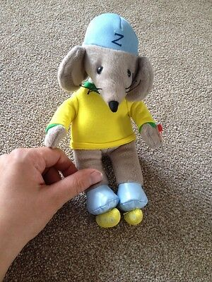 """""""ty"""" Beanie Babies """"Zoomer"""" Soft Toy From Rastamouse"""