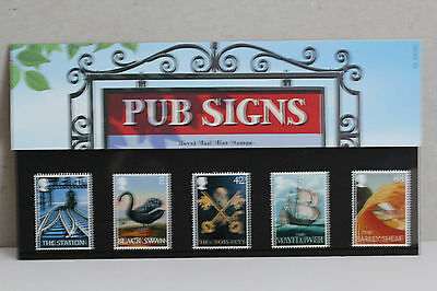 Royal Mail Mint Stamps Pub Signs