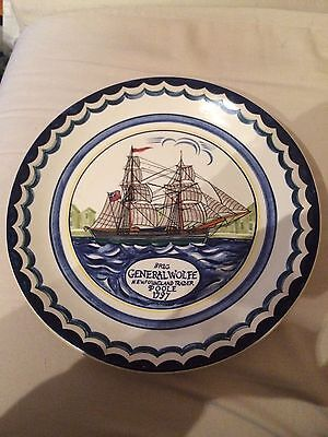 Set Of 4 Poole Pottery Plates