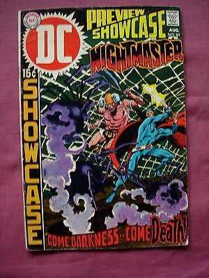 Preview Showcase #84 Nightmaster 1969 Silver Age Issue DC Comics VGC/FN